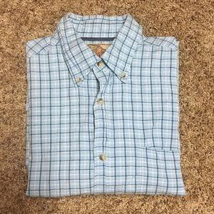 Cactus Jeanswear Button Down Plaid Shirt - M